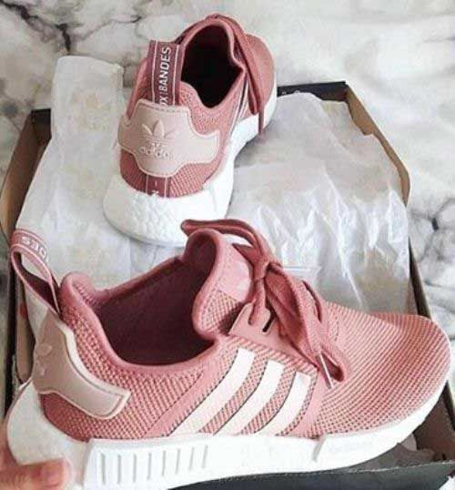 These would look great with my black velvet joggers... blush-yeezy-boost