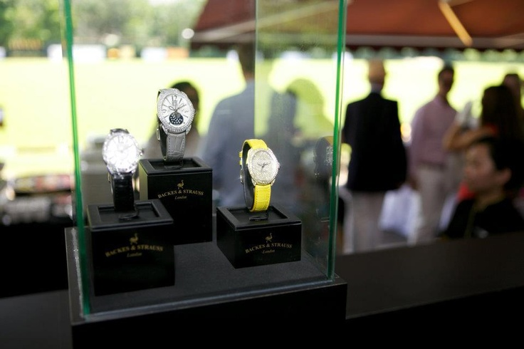 Backes & Strauss diamond watches - the perfect watches for a British polo game - Discover more on www.backesandstrauss.com