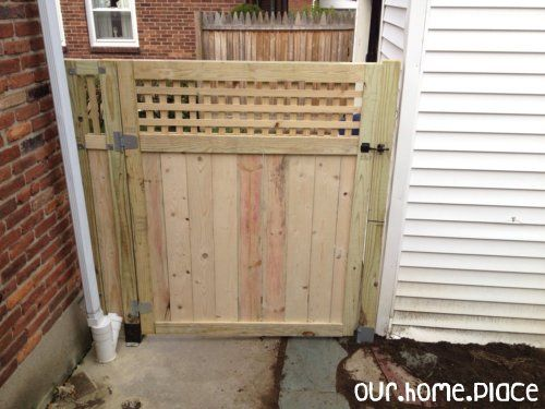 Building A Gate Wrap Up Ideas House And Wraps