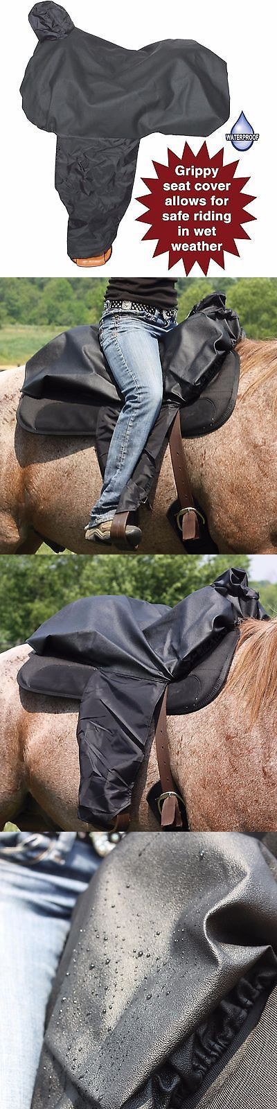 Saddle Covers 179000: Sureseat All Weather Western Saddle Cover By Dura-Tech BUY IT NOW ONLY: $35.0