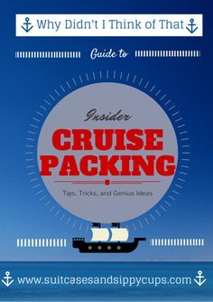 Ten Things You Wouldn't Think to Add to Your Cruise Packing List