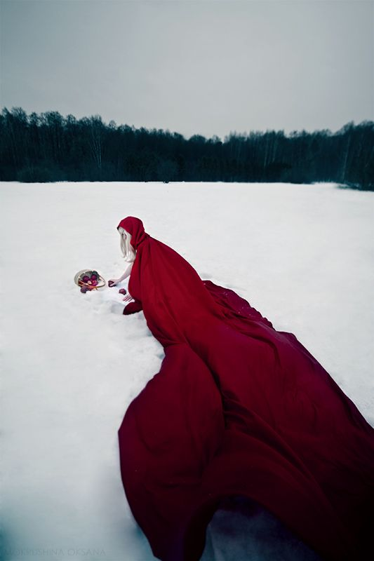 march winds - little red riding hood