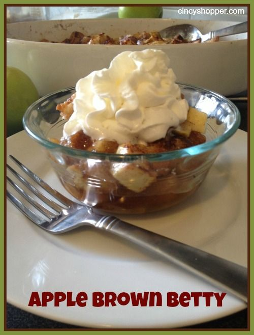 40 best images about APPLE BROWN BETTY on Pinterest ...