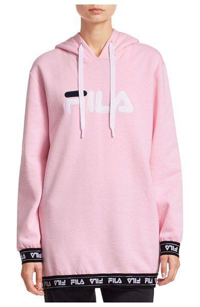 da207572a520 Fila Karena Logo Fleece Hoodie in 2019 | Activewear / Athleisure ...