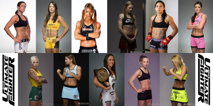 TUF 20 - Straw Weight Division - Women in the 115-pound division
