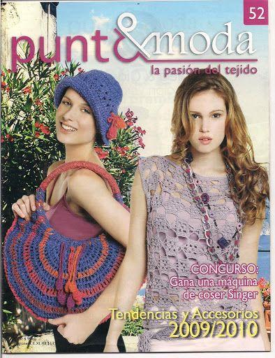 Moda Knitting Pattern Books : 40 best Mags - Punto e moda images on Pinterest Knitting books, Crochet boo...