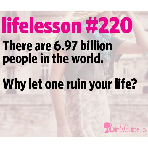 Our 21 Favorite Life Lessons About Break Ups | GirlsGuideTo