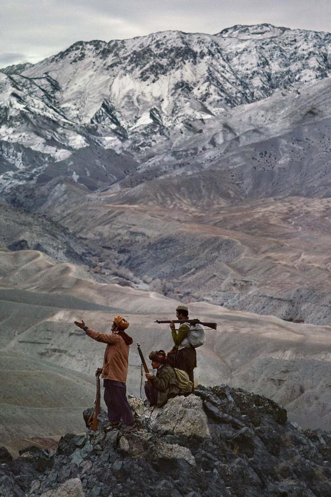 Chaîne de l'Hindu Kush, Afghanistan, 1984 © Steve McCurry /MagnumPhotos