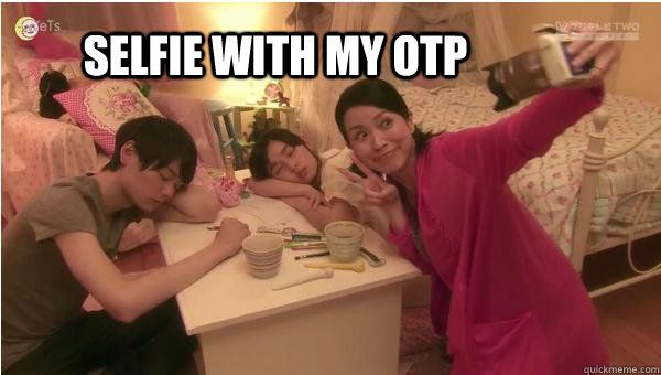 Drama Queen: Selfie with OTP #kdramahumor