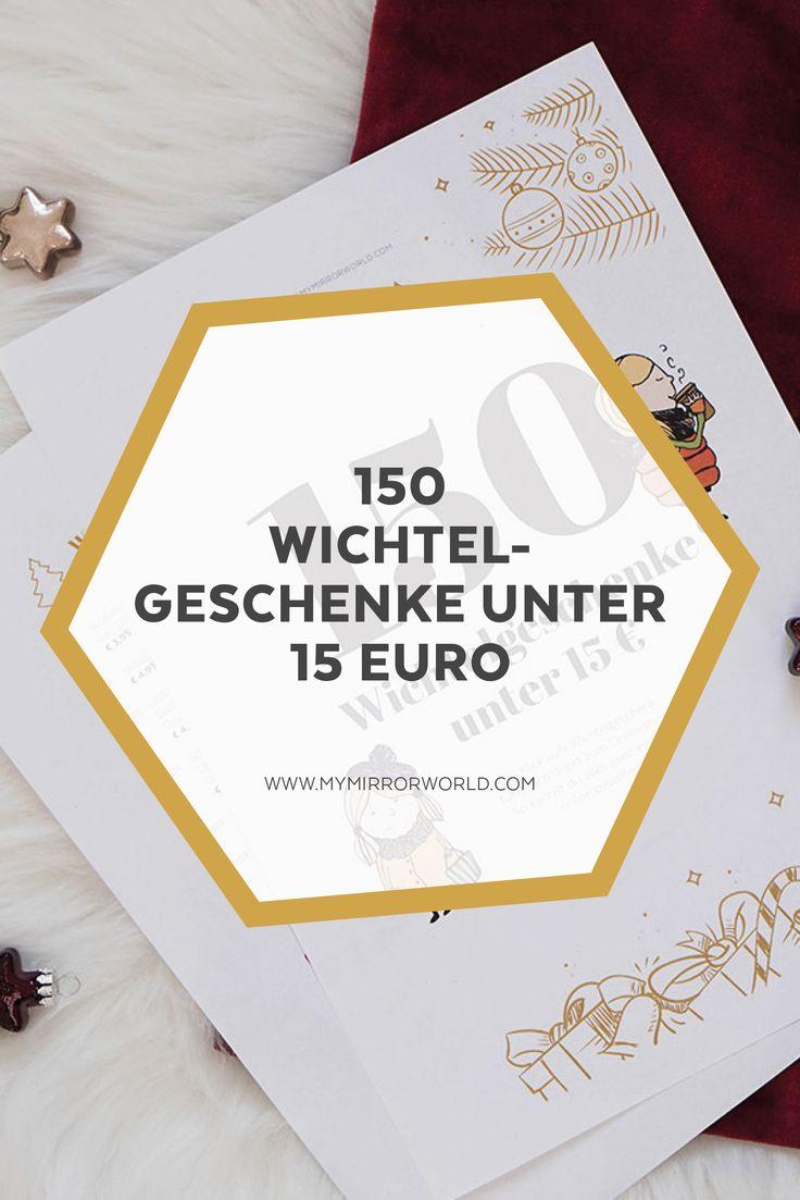 150 wichtelgeschenke unter 15 euro lifestyleblogs sterreich. Black Bedroom Furniture Sets. Home Design Ideas