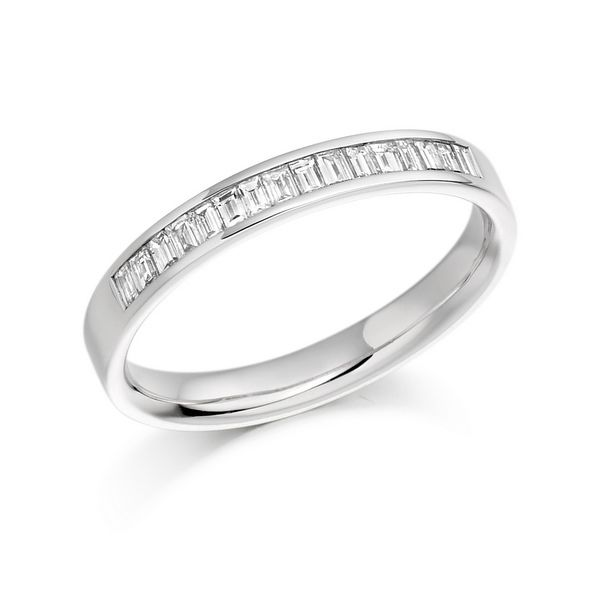 on semi a blingologist the truth half eternity diamond band bands
