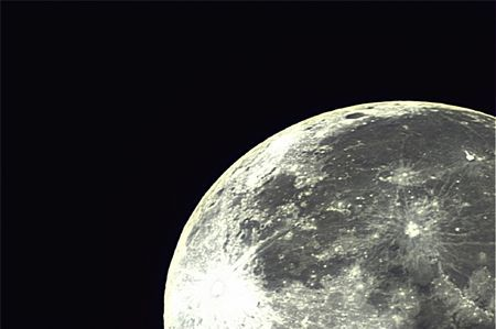 Full crisp moon Photo by Dean Howlett -- National Geographic Your Shot