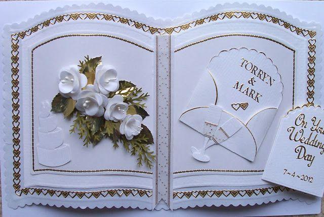 Baukje's Cards and Crafts: Wedding Card
