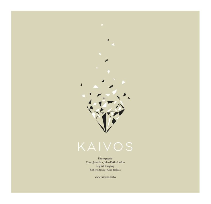 Logo for the Kaivos/Mine Photography/Studio