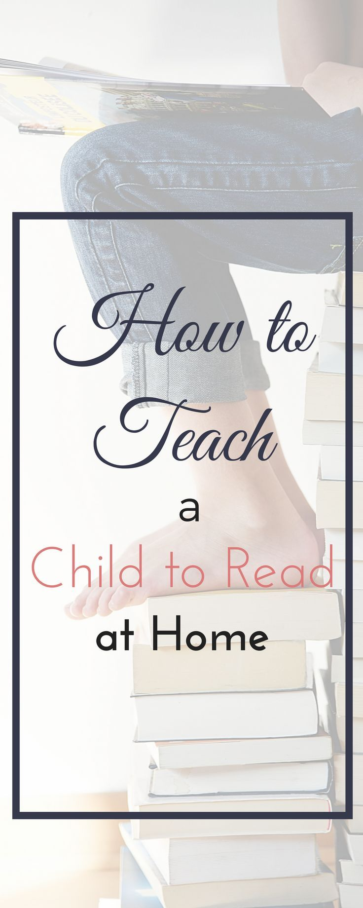 I'm sharing my 5 top strategies for how to teach your child to read at home.  Discover the best way to teach reading in your homeschool!