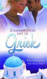 Topcollectie 4 - Lucy Monroe - Kim Lawrence - Michelle Reid - Zomernachten met de Griek #harlequin #boeken #lezen #topcollectie #griekenland #griek #michellereid #kimlawrence #lucymonroe