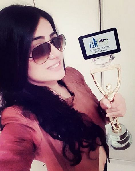 Radhika Madan's dog bit her in the eye.