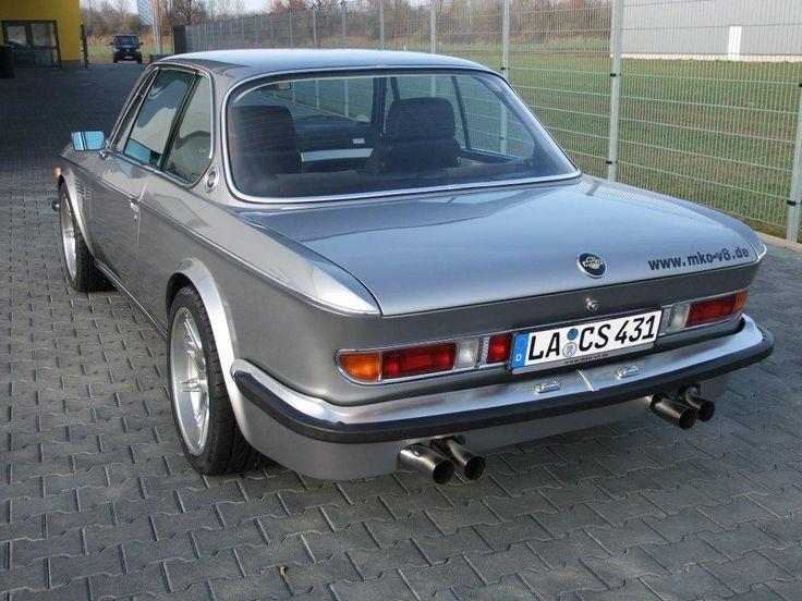 Classic BMW E9 CS Body Fitted Over E39 M5 Drivetrain
