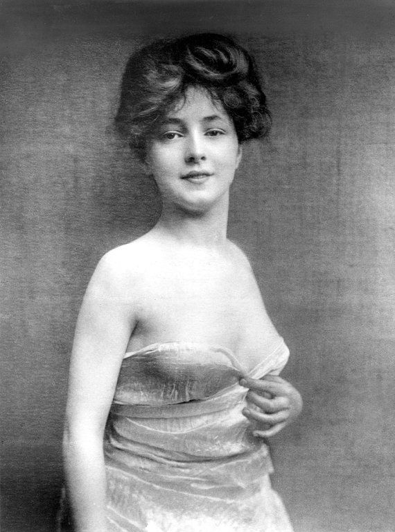 Evelyn Nesbit, Gibson Girl,  Vintage Photo, Instant Digital Download