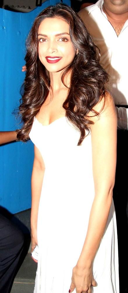 Deepika Padukone at the 'Finding Fanny Fernandes' completion party. #Bollywood #Style #Fashion #Beauty