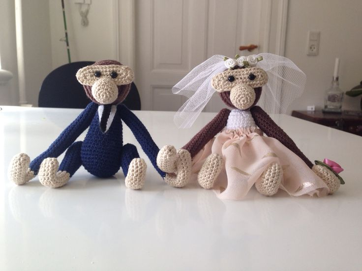 Hæklet bryllupsaber