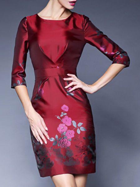 Floral-print  #Mini #Dress #stylewe