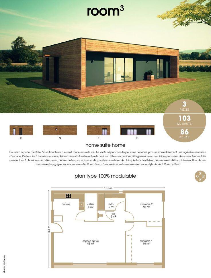 Les 25 meilleures id es de la cat gorie constructeur for Constructeur maison bois 50
