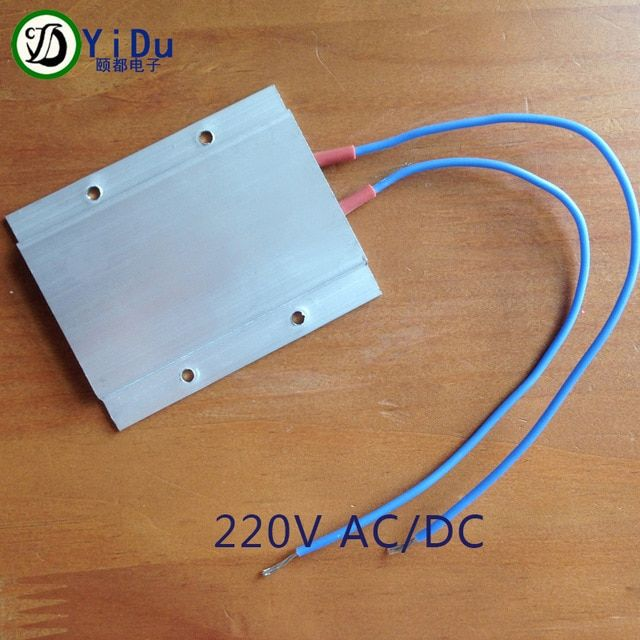 220v Constant Temperature Ceramic Aluminum Heater Ptc Heater With Shell 77 62mm Review Ceramic Heater Home Appliances Appliance Parts