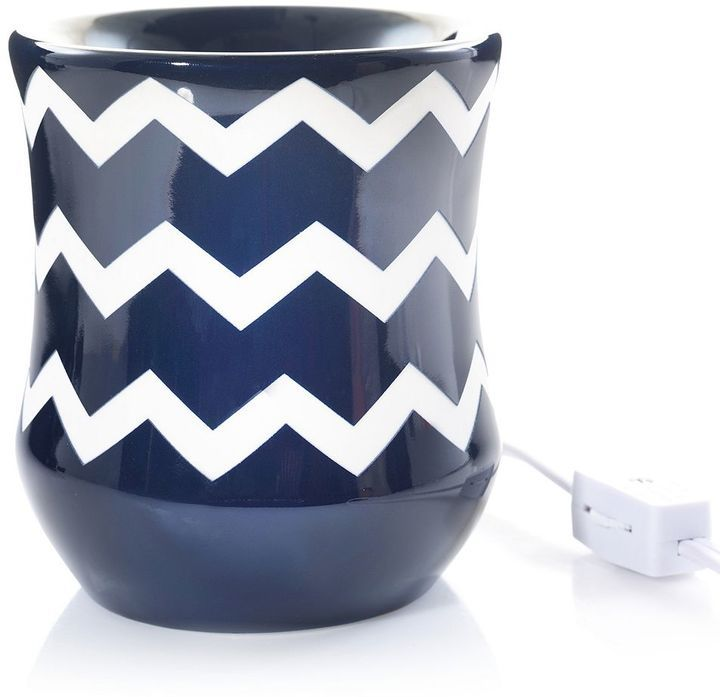 Yankee Candle Chevron Electric Tart Wax Melt Warmer
