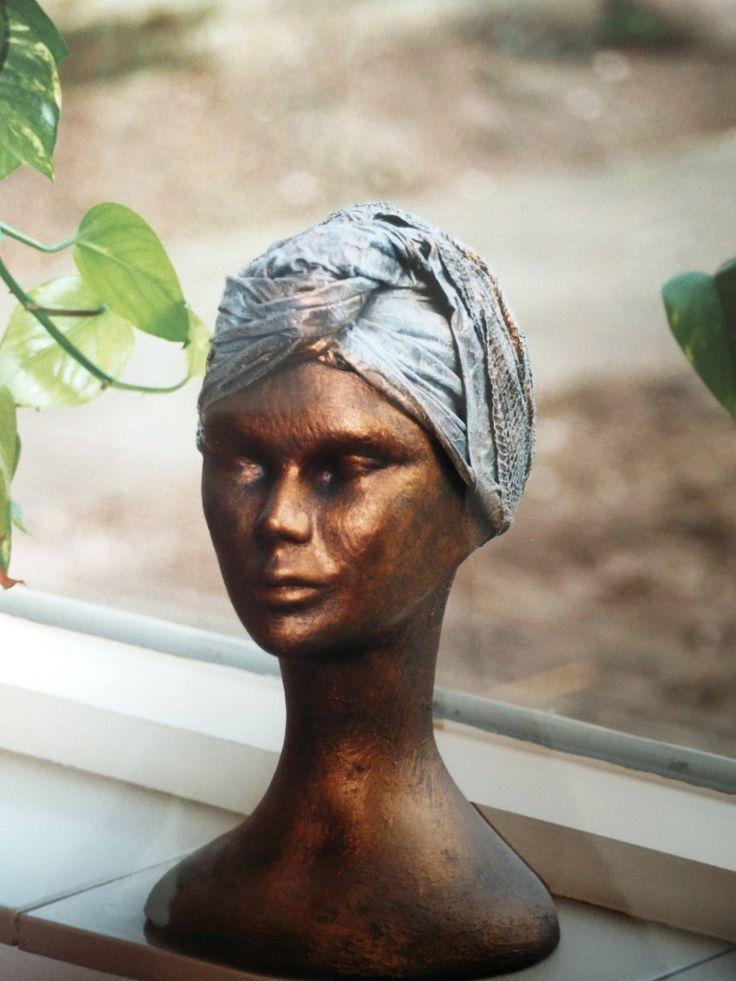 van piepschuim tot bronzen beeld