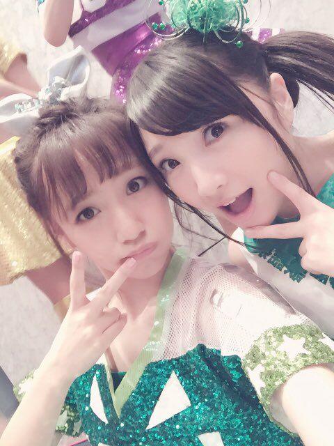 Takamina and the cutest bug of all, Ariyasu