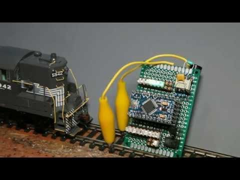Cheapest DCC model railroad control Ever! DCC++ $10 00 and