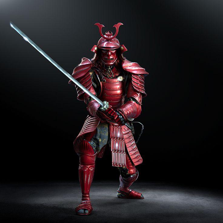Ryobi Samurai on Behance