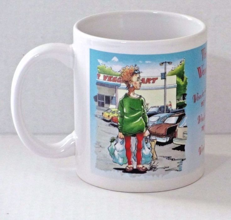 Leanin Tree Mug Cowboy Cartoon Wonder Years Artist Ben Crane Senior Humor Joke #LeaninTree
