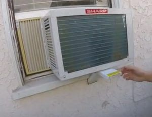 How To Install a Window Air Conditioner Support Bracket Step 7