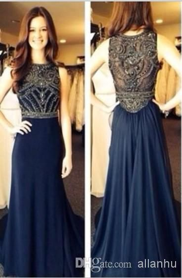 Cheap Pageant Dresses for Girls - Discount 2014 New Sexy Prom Dresses Sleeveless Scoop Neckline Online with $156.03/Piece | DHgate