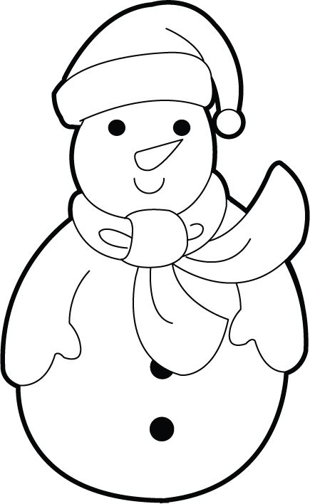 Snowman Hat Clip Art Black And White Electric Scooters