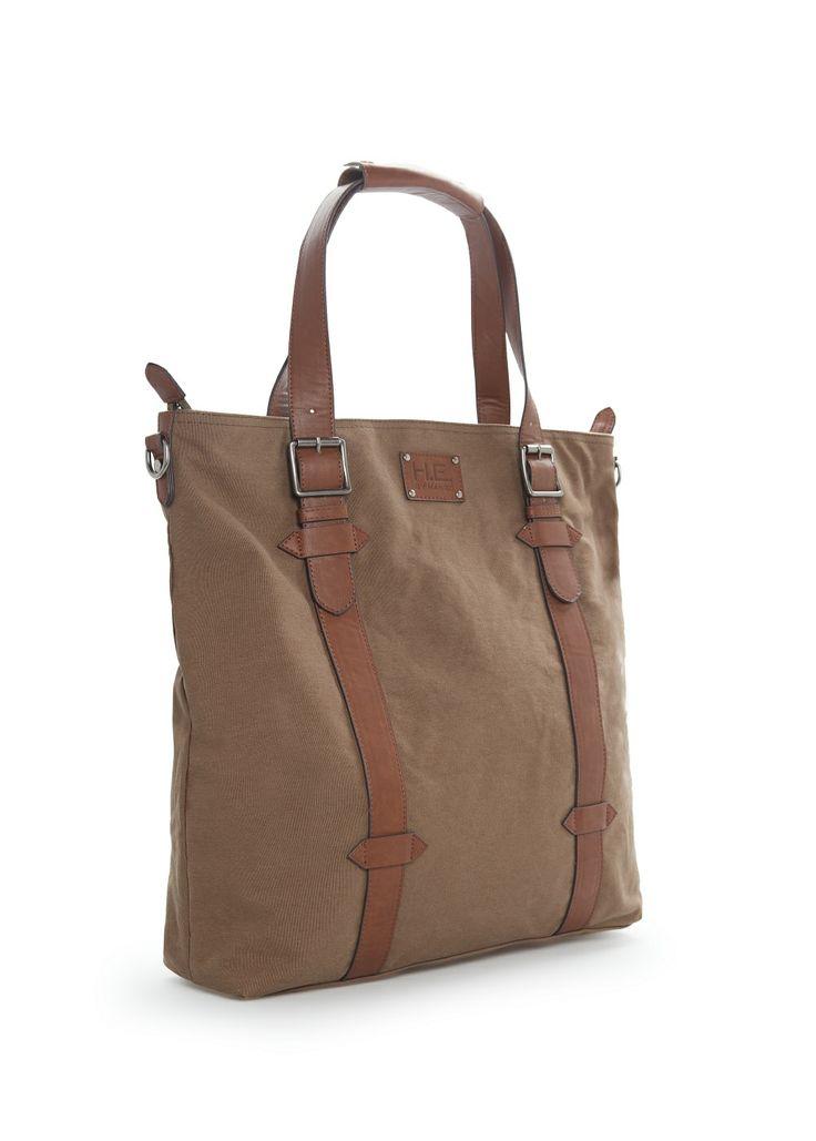 Canvas tote bag - Bags - Men - H.E. BY MANGO