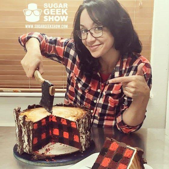 Lumberjack Cake Kid Din Around Pinterest Plaid