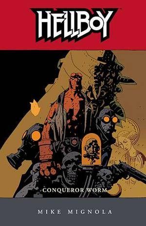 Hellboy, by Mike Mignola.