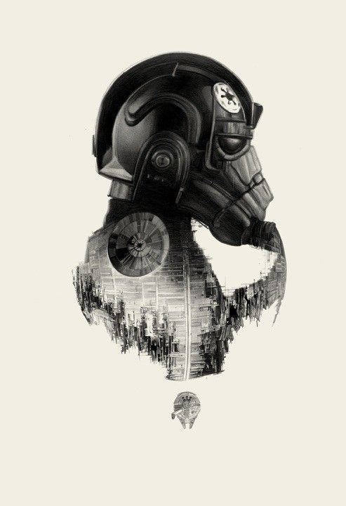 32 Spectacular Star Wars Illustrations | From up North