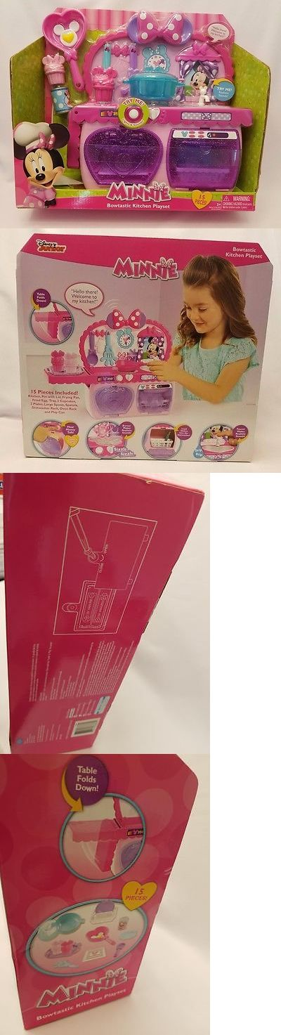 Minnie 19220: Minnie Mouse Bowstastic Kitchen Playset, Nip -> BUY IT NOW ONLY: $44.99 on eBay!