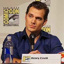 Henry Cavill at the 2013 San Diego Comic Con