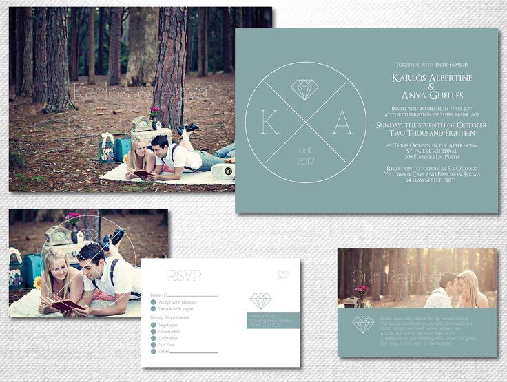 Bohemian Wedding Invitation ~ Boho Wedding ~ Boho Invitation ~ Industrial Wedding Invitation ~ Geometric Invitation ~ Wedding RSVP Cards by LoveStoryInvitations on Etsy https://www.etsy.com/au/listing/494372302/bohemian-wedding-invitation-boho-wedding