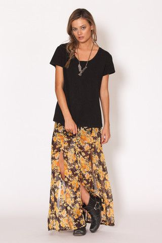 Amilita - Zephyr Tee   classic   model   style   summer   festival   grunge   essential   Paved Paradise