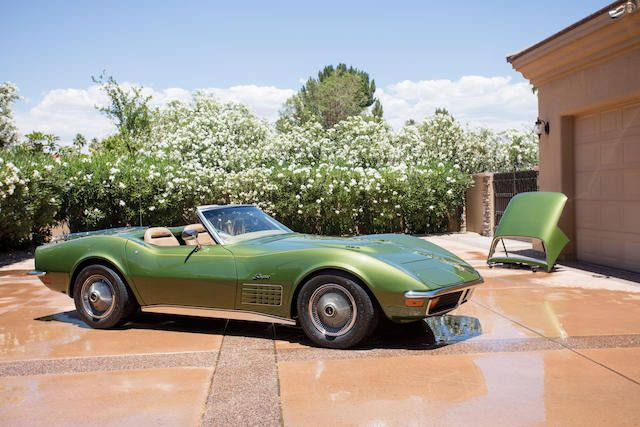 1972 Chevrolet Corvette 454/270HP Roadster. Call #Premier to get pre-approved to #lease a #Chevrolet on offer at #Bonhams #Monterey 2017 #QuailLodgeAuctions