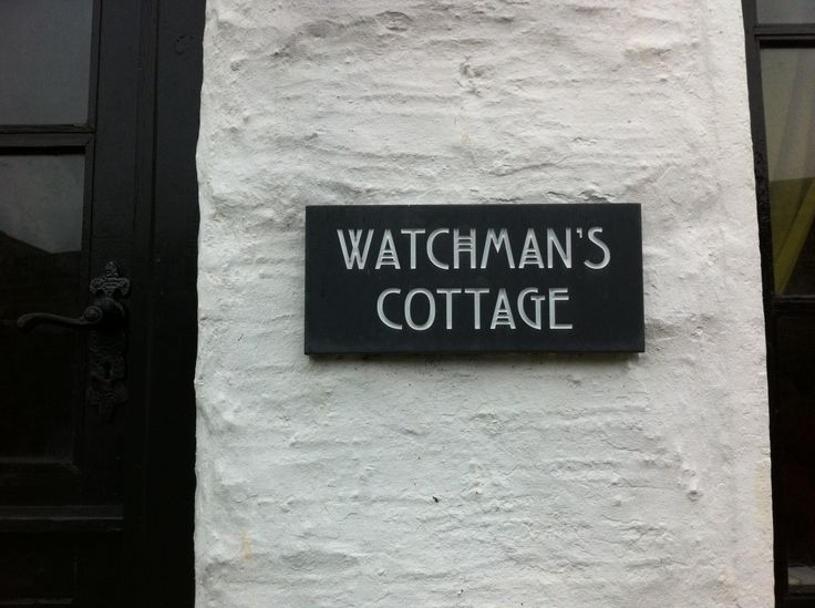 Watchman's cottage