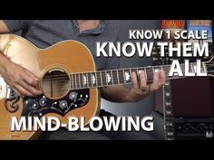 Know ONE Guitar Scale Form, Know Them ALL - YouTube