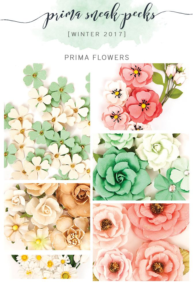 how to make prima flowers