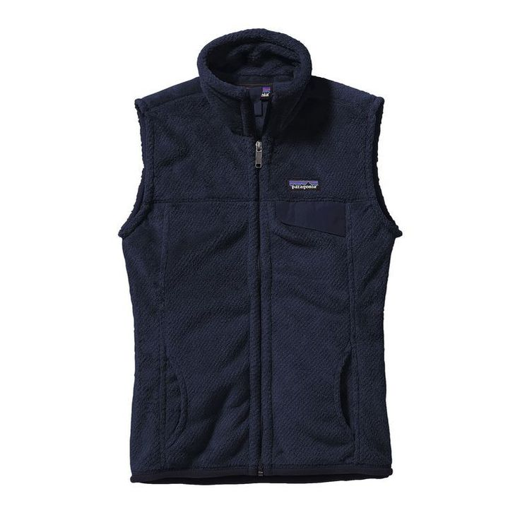 Made of our soft, deep-pile Polartec® Thermal Pro® polyester fleece (51% recycled), this vest has a tall collar, handwarmer pockets and a chest pocket with a nylon flap.